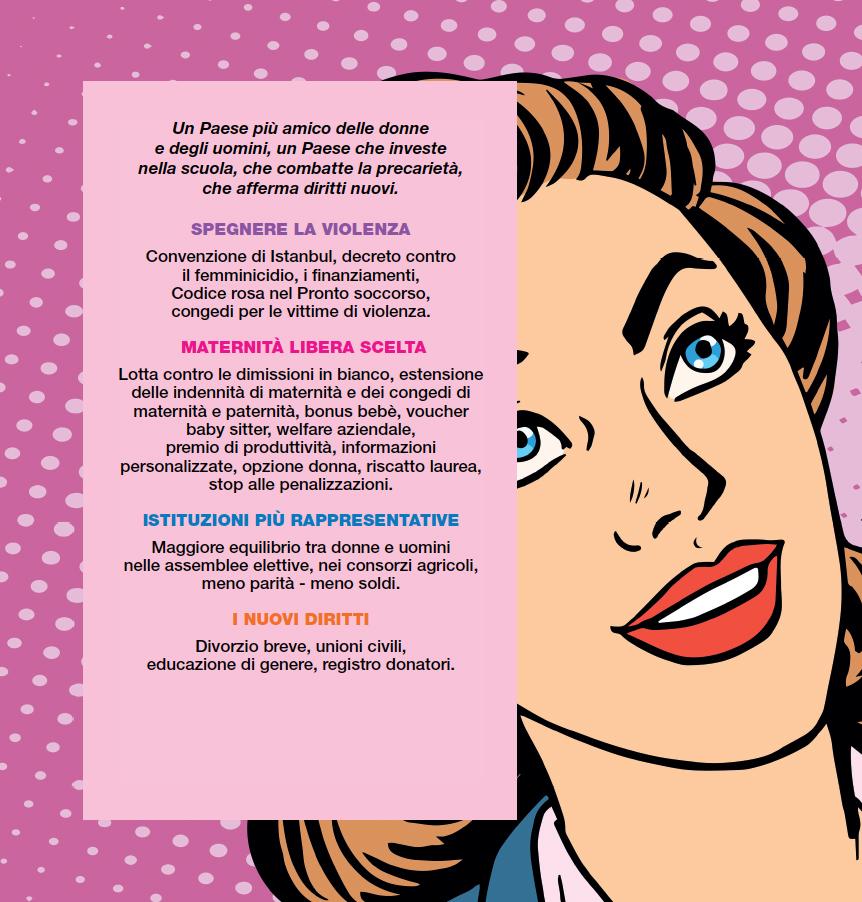 Un paese per donne e uomini gruppo pd camera dei for Deputate pd donne elenco